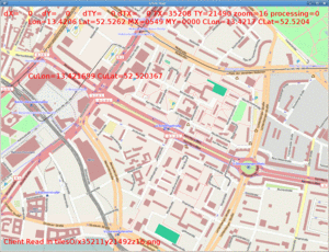 Viewer for OpenStreetMap (wip) written by Michal Kolodziejczyk